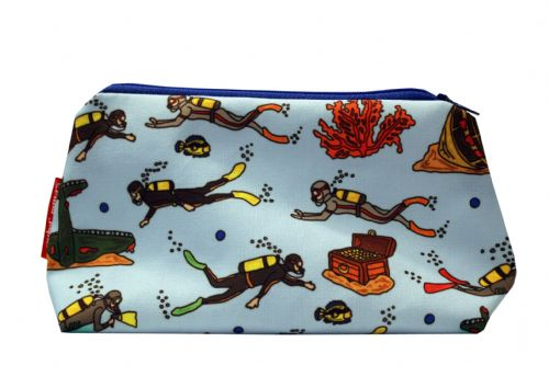 Selina-Jayne Scuba Diving Limited Edition Designer Cosmetic Bag